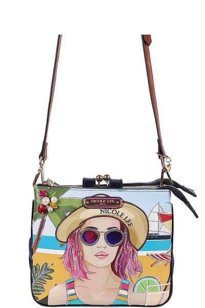 Nicole Lee Fashion Crossbody Bag