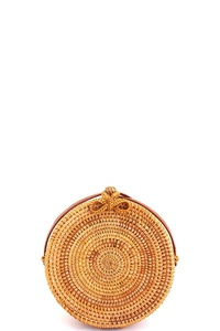 Hot Trendy Natural Woven Circle Bag