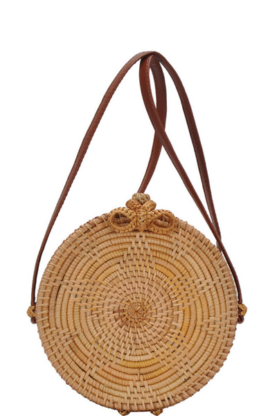 Circle Bamboo Fashion bag