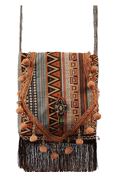 Laila Large Bohemian Cross Body