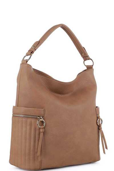 MODERN STYLISH CHIC HOBO BAG WITH LONG STRAP