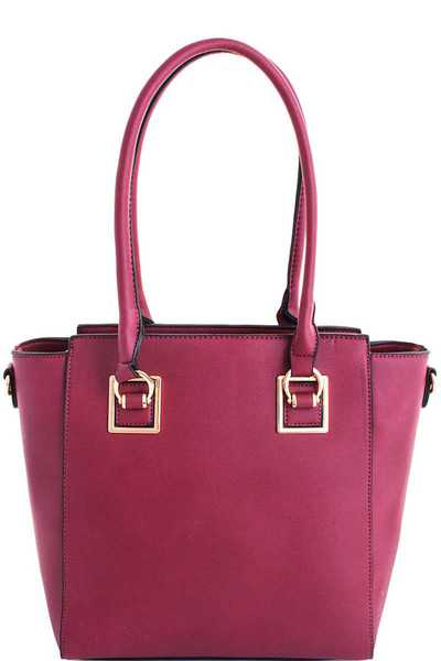 3in1 Chic Modern Stylish Satchel Set with Long Strap