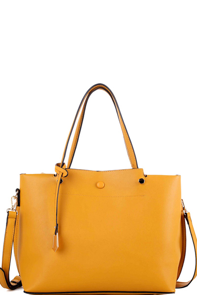 Multi Compartment Classy 2 Way Satchel