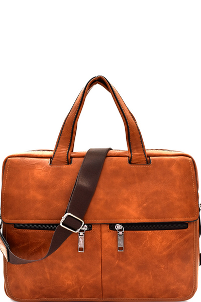 Multi Pocket Men's Bag Laptop Briefcase