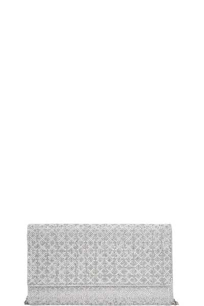 CHIC FASHION WOVEN PARTY CLUTCH WITH CHAIN
