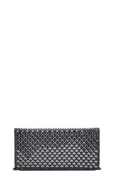 MODERN FASHION CHIC CLUTCH WITH LONG CHAIN