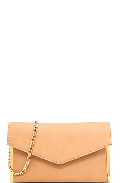 Princess Envelope Modern Clutch with Chain