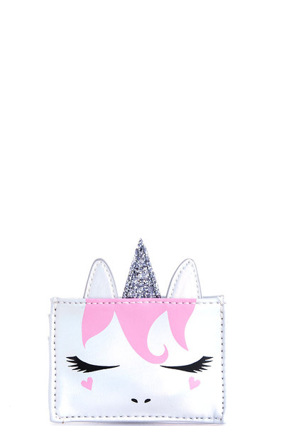 Hot Trendy Cute Unicorn Credit Card Wallet