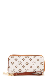 Alba Charisma Thick Wallet with Wristlet