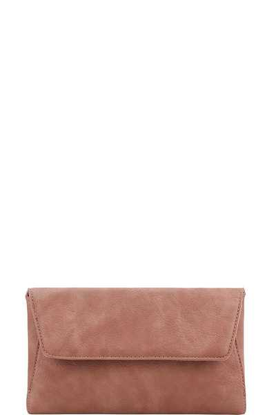 MODERN FASHION ENVELOPE CLUTCH WITH CHAIN