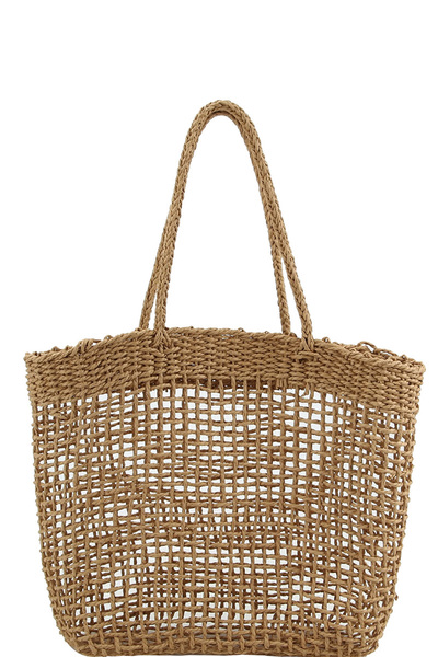 Fashion Woven Straw Shopper