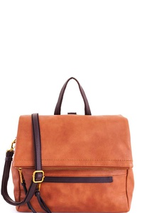 Stylish Modern Fashion Brief Case Satchel with Long Strap