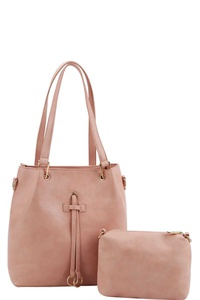 2IN1 CHIC STYLISH TOTE BAG WITH LONG STRAP