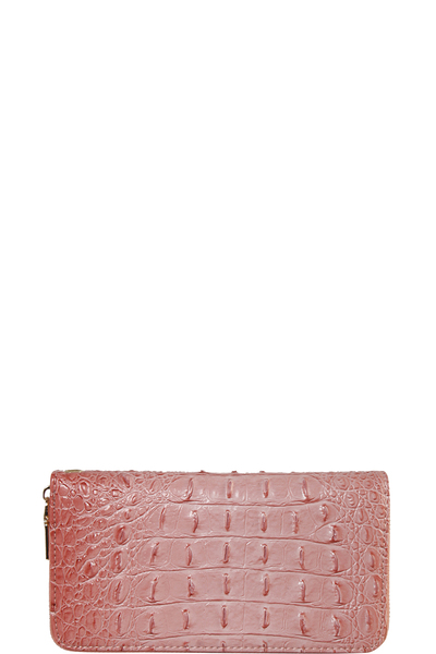 CROC Collection Vegan Leather Wallet
