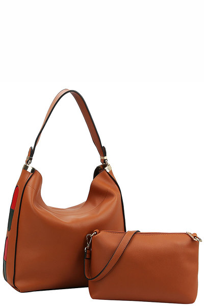 2in1 Fashion Chic Hobo Bag
