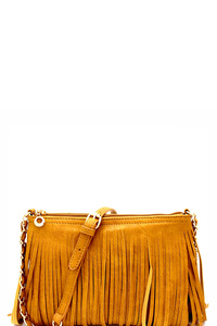 All-Around Fringed Cross Body Messenger