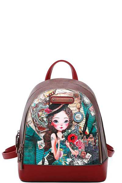 Nicole Lee EMILY TRAVELS CUTE BACKPACK