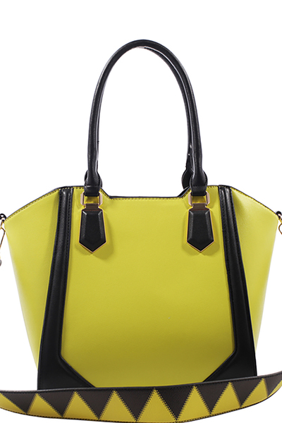 Fashion Handbag Top Handle Satchel