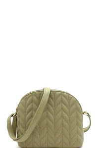 Quilted Dome-Shaped Cross Body