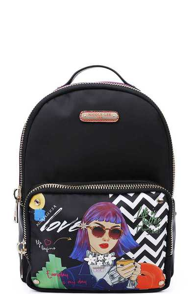 Nicole Lee INSPIRED STYLISH BACKPACK