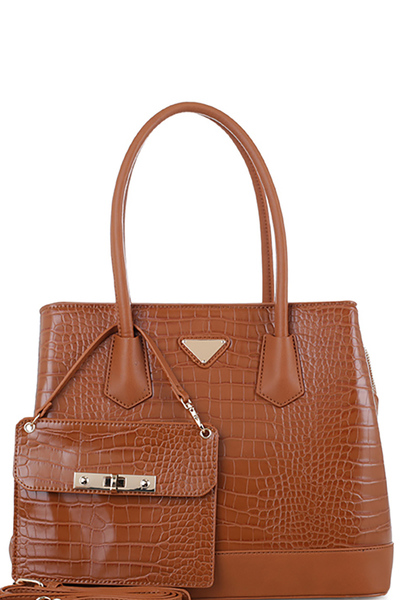 Crocodile 2 in 1 Satchel