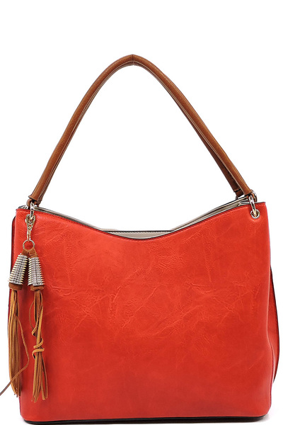 2 Toned Shoulder Bag