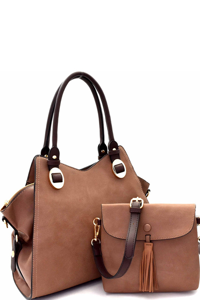 Hardware Accent 3 in 1 Wing Satchel Value SET