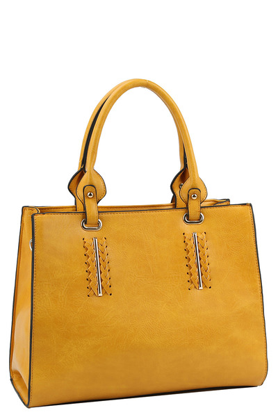 Stylish Trendy Satchel with Long Strap