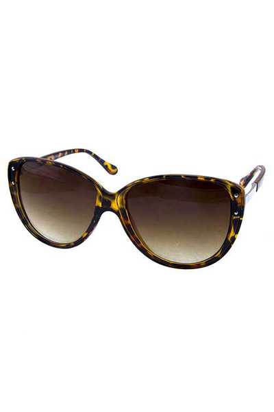 Womens high pointed square style sunglasses