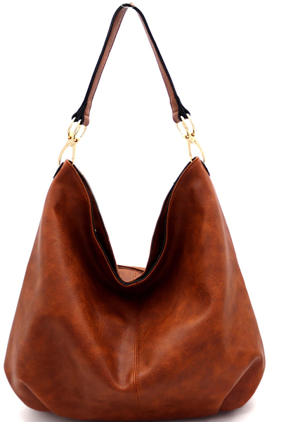 Simple Single Strap Slouch Hobo