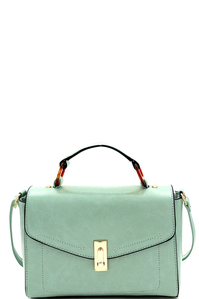 Envelope Flap Crossbody Bag Satchel