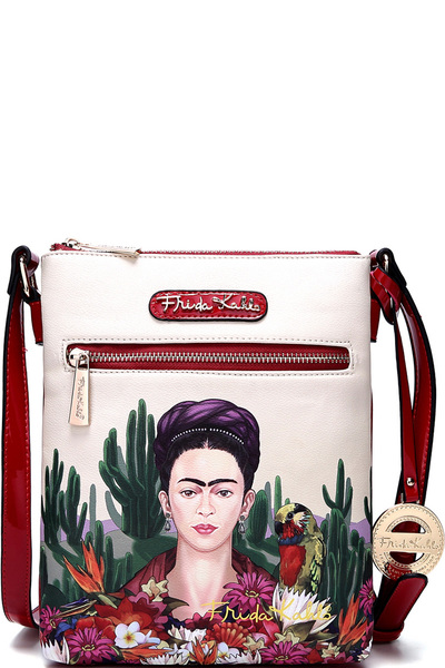 Authentic Frida Kahlo Cactus Series Cross Body