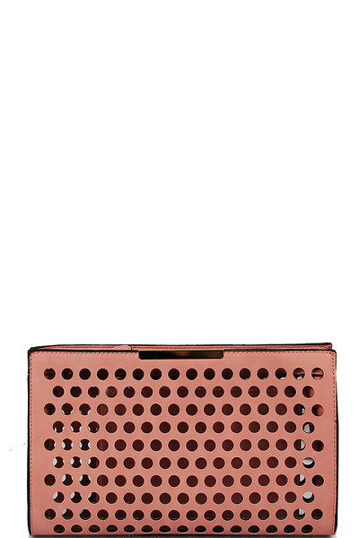 CANDRA PERFORATED CLUTCH