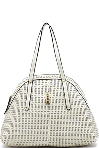 Laser Cut Printed Dome Satchel