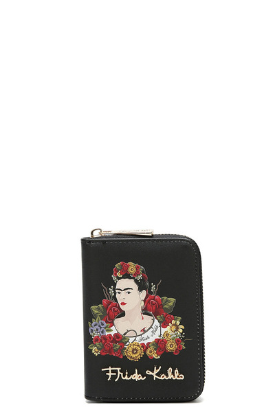 Authentic Frida Kahlo Flower Theme  Wallet
