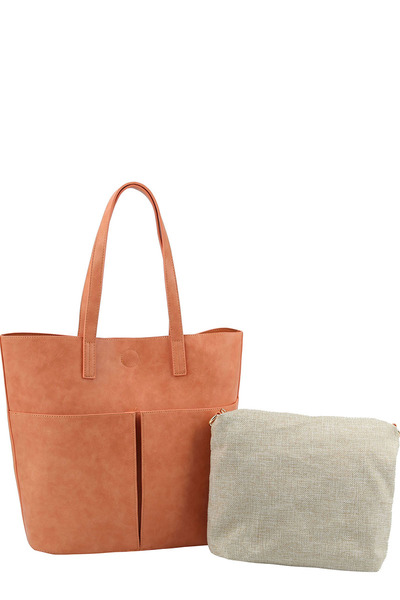 Fashion Pocket 2-in-1 Shopper