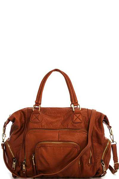 Stylish Fashion Modern Satchel with Long Strap
