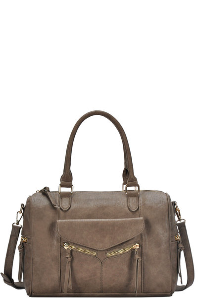 Stylish Fashion Chic Satchel With Long Strap