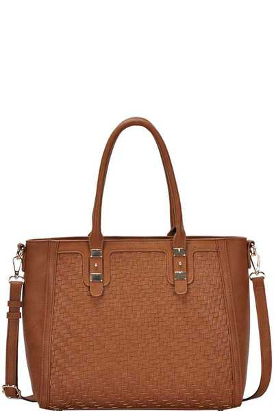 CHIC STYLISH FASHION SATCHEL WITH LONG STRAP