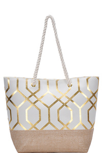 Women Circle Vector Abstract Design Tote