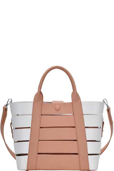 FASHION CHIC INSPIRED SHOPPER WITH LONG STRAP