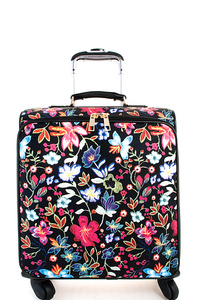Designer Modern Flower Travel Luggage