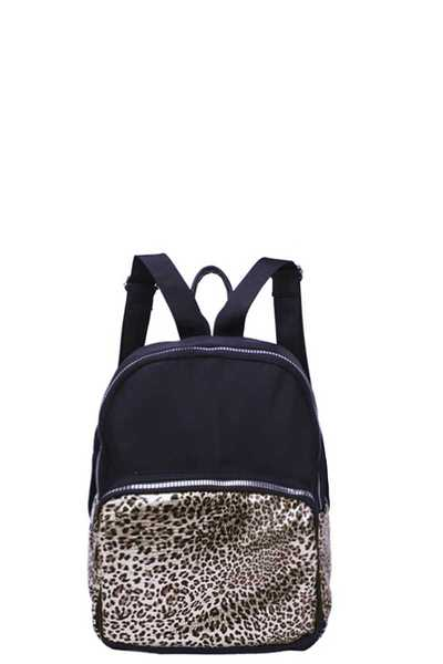 MODERN ANIMAL LEOPARD PRINT BACKPACK