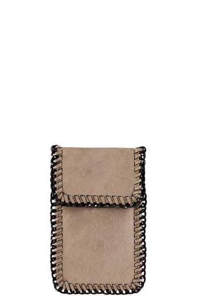 FASHION CUTE CHAIN AROUND FLAPOVER CROSSBODY CELLPHONE CASE
