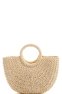 Fashion Woven Princess Handbag