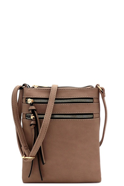 Multi-Pocket Organizer Fashion Cross Body