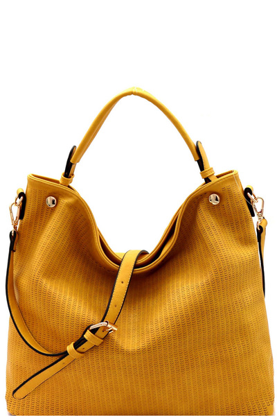 Perforated Soft 2-Way Tote