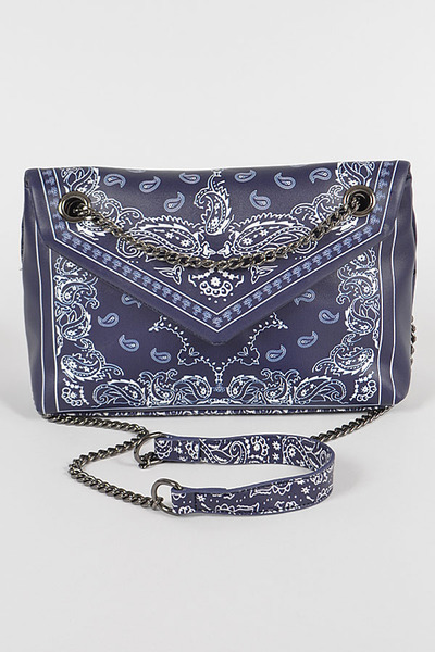 Bandana Print Cross Body Bag
