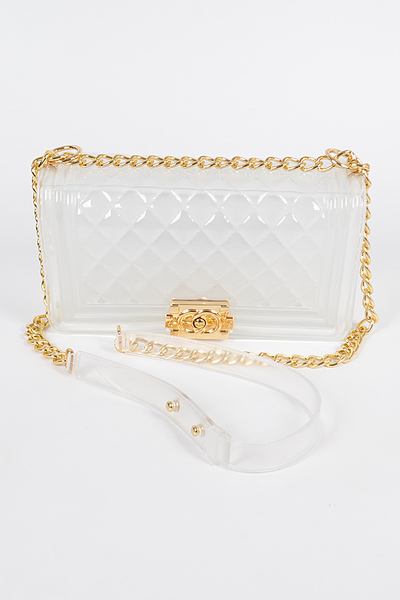 Jelly Clear Shoulder Bag