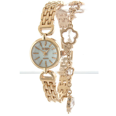 FLORAL CHARM WATCH